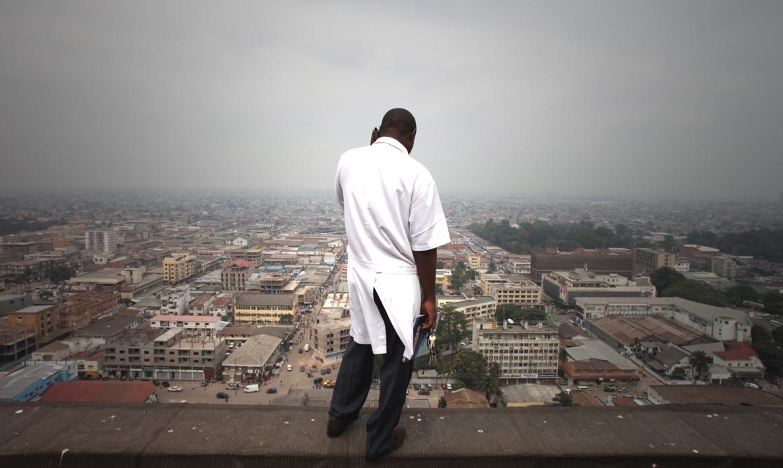 Kinshasa vue des toits