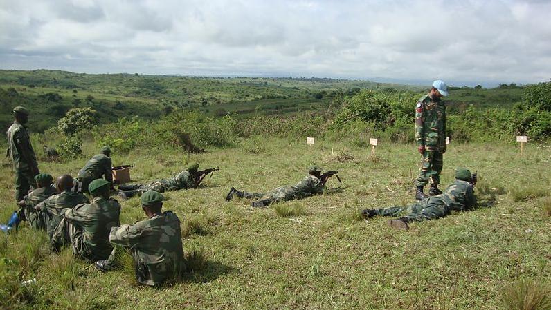 Formation d'éléments FARDC à Bunia, 23 avril 2013 (Ph. Amadou Maiga Monusco