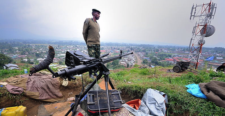 Soldat du M23 en juillet 2012 Licence creative commons - Peter Greste