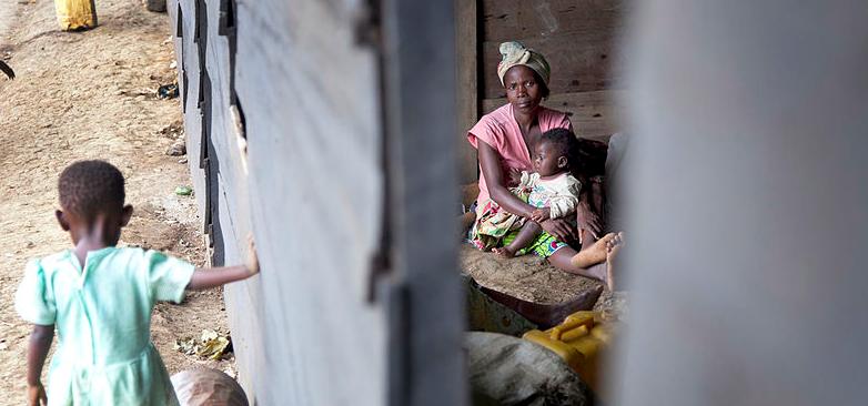 Réfugiés à Ntoto en 2012 Licence creative commons MONUSCO:Sylvain Liechti