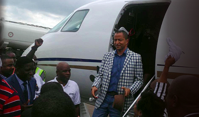 Retour Katumbi 1 déc. 2014