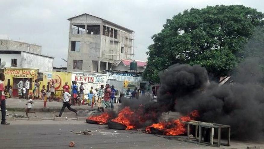 Manifestation à Kinshasa mardi 20 janvier