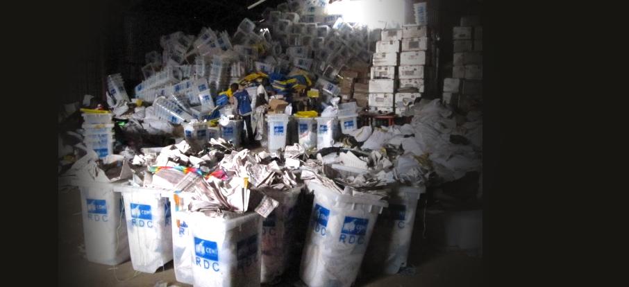 Centre de compilation Katanga élections 2011
