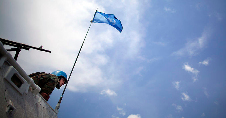 Monusco à Goma en 2013