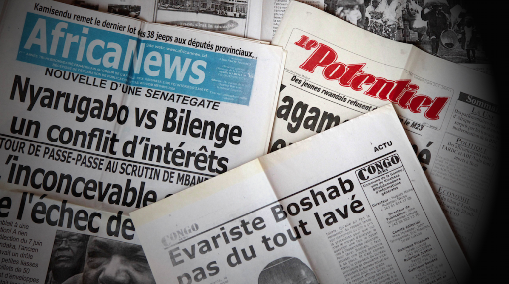Journaux conoglais