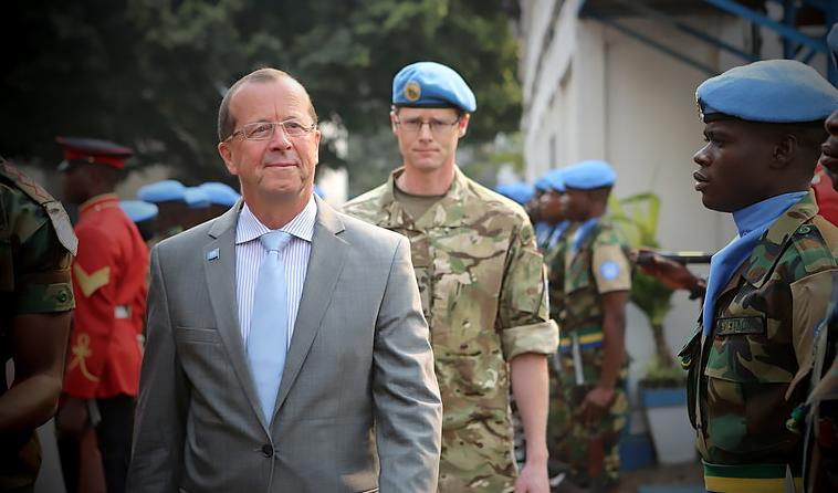 Martin Kobler à Kinshasa en 2013 Photo MONUSCO: Myriam Asmani