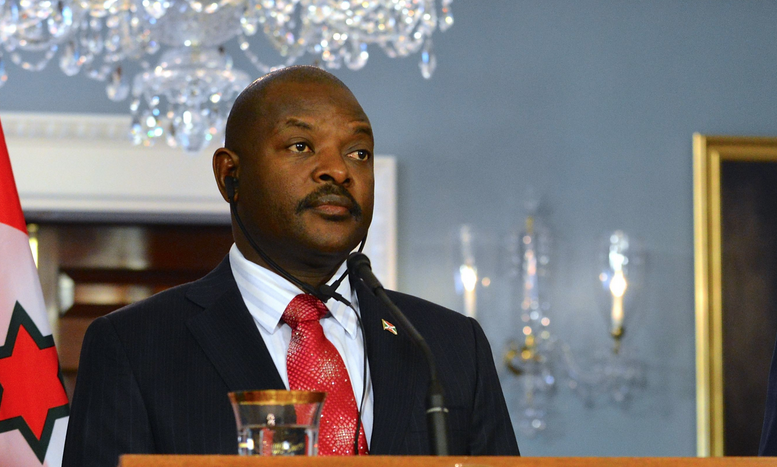 Pierre Nkurunziza © U.S. Department of State 2014