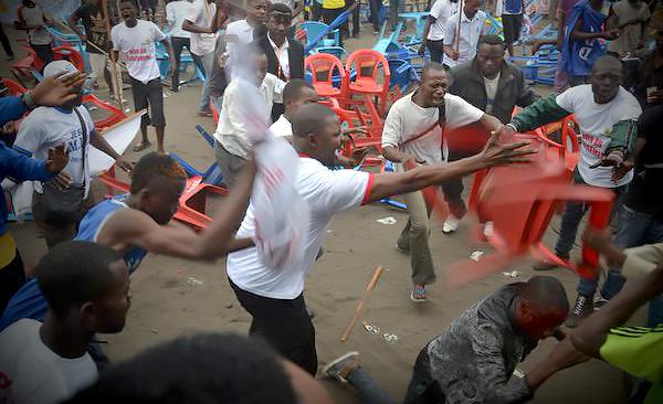 manifestation Ndjili 15 sept 2015