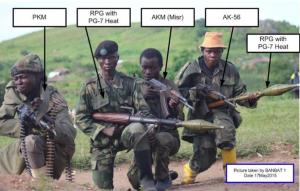 Armement des rebelles du FRPI