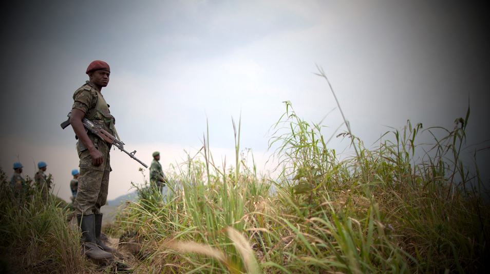 FARDC deployement in Kibumba 2012 MONUSCO Sylvain Liechti