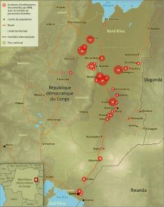 Enlèvements documentés par HRW en 2015