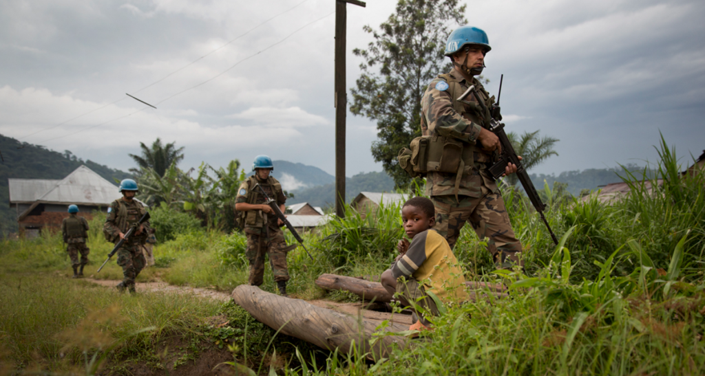 Patrouille de la Monusco en 2013 au Nord-Kivu MONUSCO:Sylvain Liechti