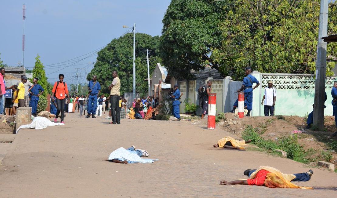 Bujumbura quartier nord 4 octobre 2016 Iwacu