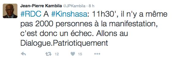 Twitter conseiller Kabila