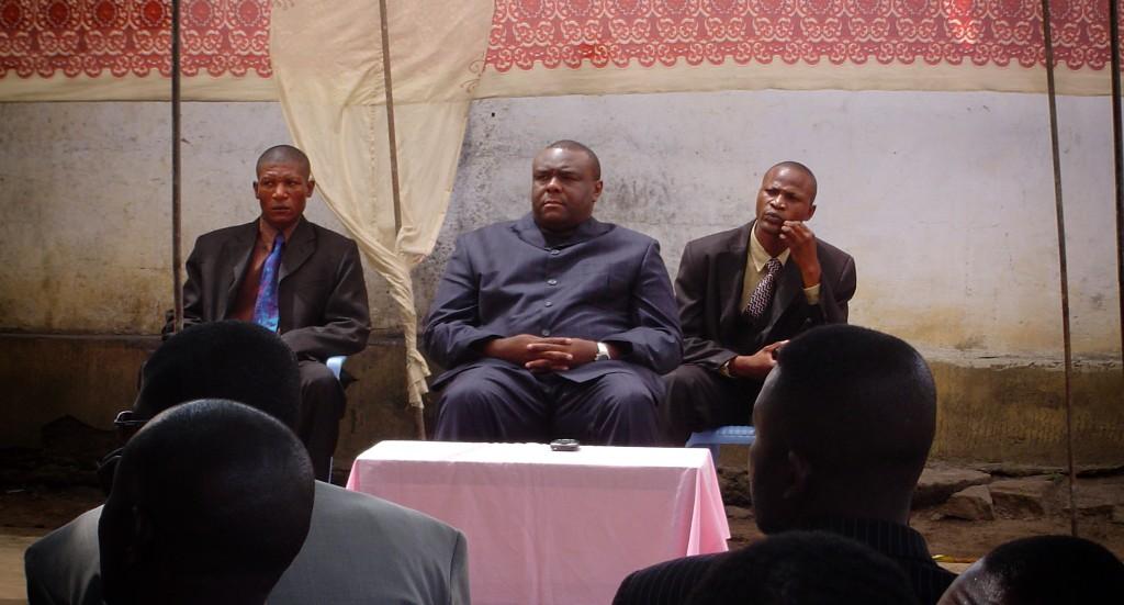Jean-Pierre Bemba à Kinshasa en 2006