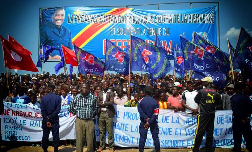 Le Tanganyika soutient le référendum