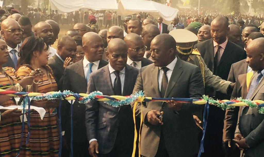 Joseph Kabila à Kananga en juillet 2016
