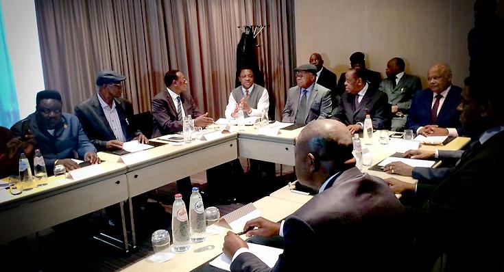 Tshisekedi et le Comité des sages juillet 2016