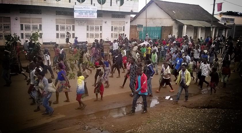 Colère à Beni juillet 2016