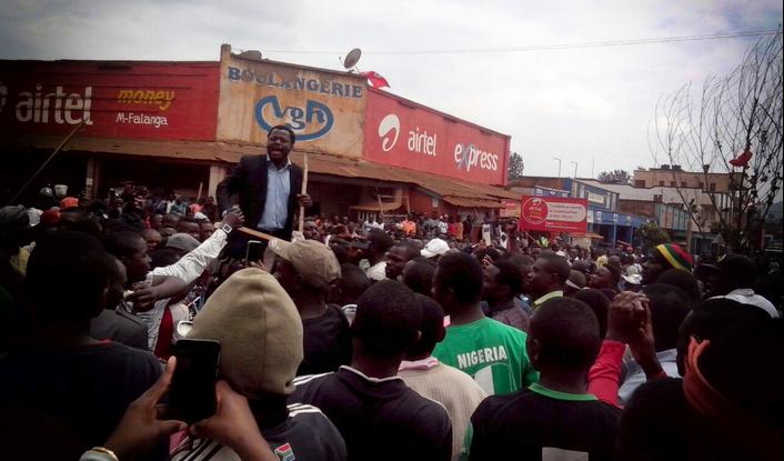 Manifestation à Butembo août 2016