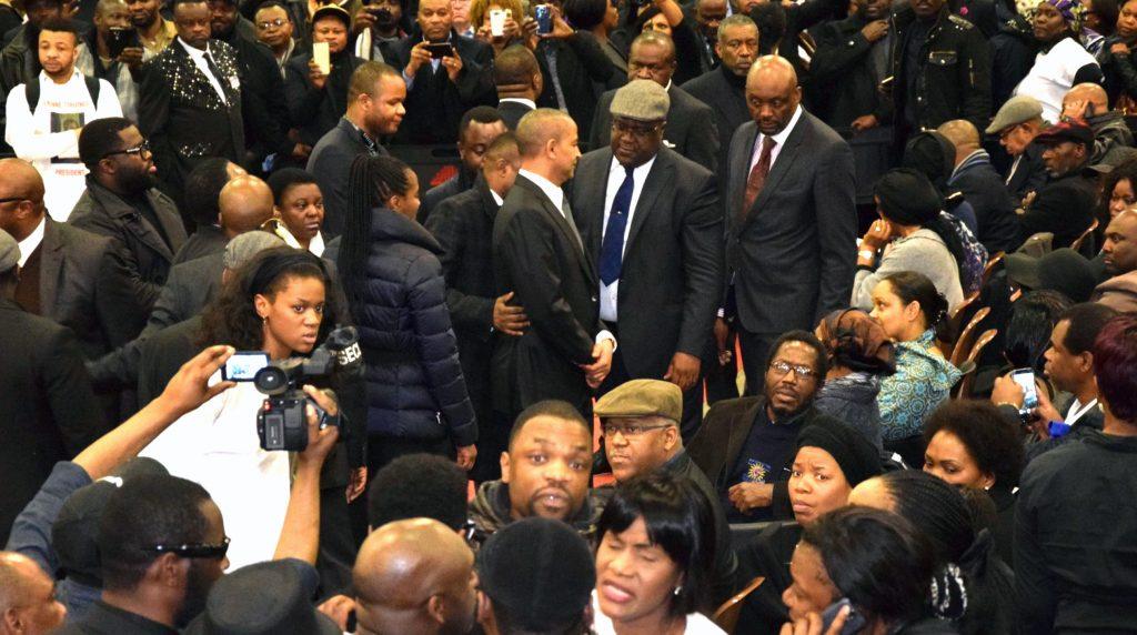 Cérémonie Bruxelles Tshisekedi février 2017