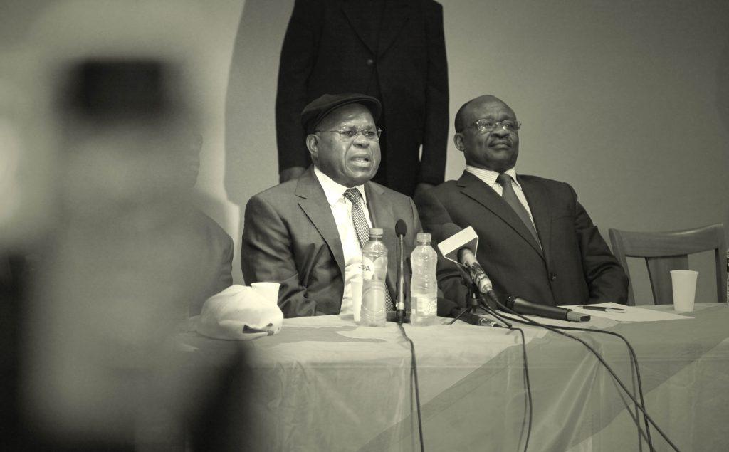 Tshisekedi en 2011 à Bruxelles